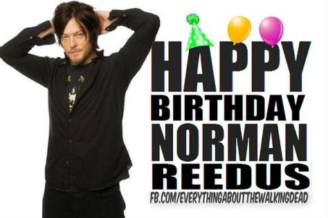 Happy Birthday Norman Reedus from ZSA and EATWD
