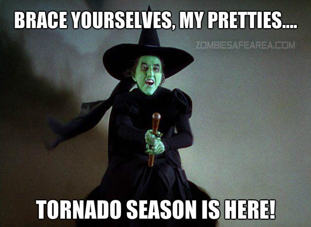Tornado witch