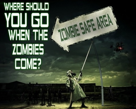 where to go when the zombies come
