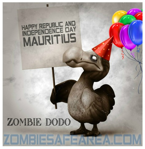 zombie dodo wishes tou banne morisyens happy independence day