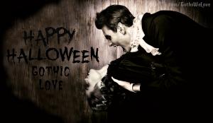 Gothic Love Halloween Poster 2015