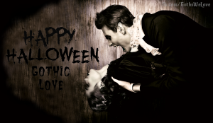 Gothic Love Halloween Poster 2015