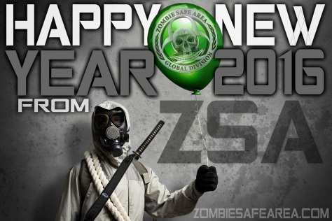 zsa_ zombie safe area_ happy new year _2016 poster