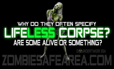 lifeless corpse zsa