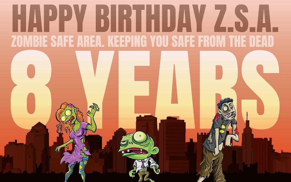 Happy 8 Years Birthday Z.S.A.